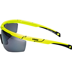 UVEX Sportstyle 117 Lunettes de sport, yellow/silver